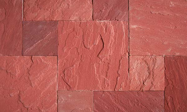 Dholpur Stone Elevation : Dholpur red natural stone creations